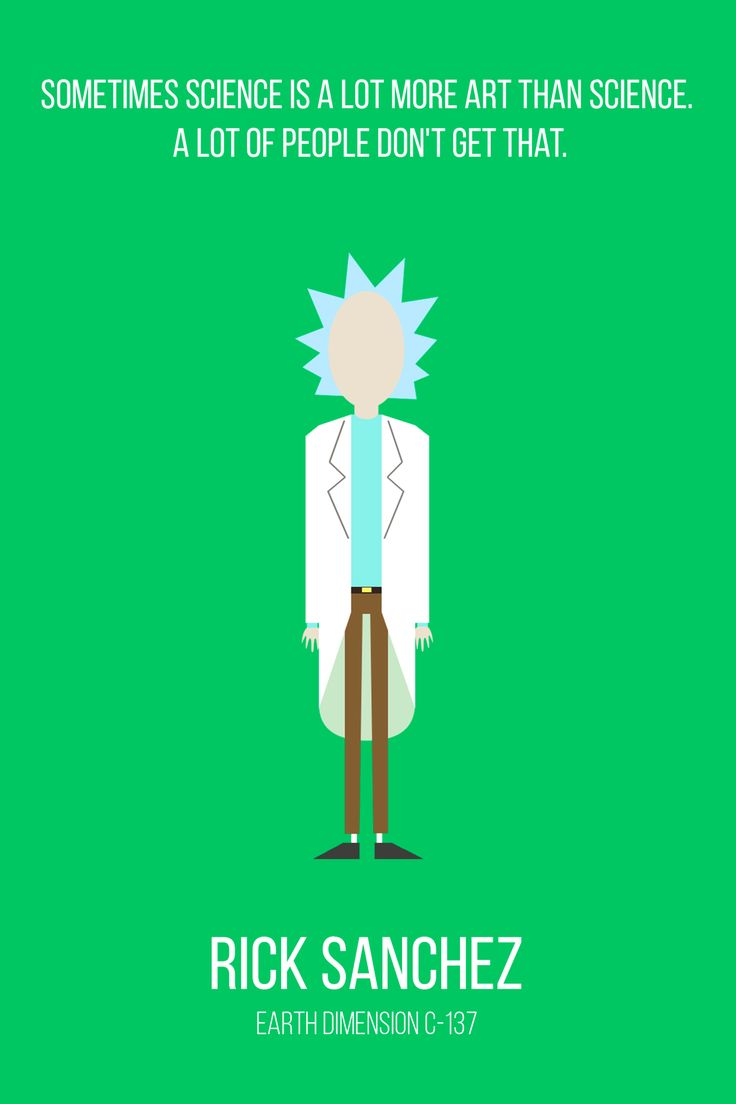 Just some Rick and Morty quotes. - Album on Imgur