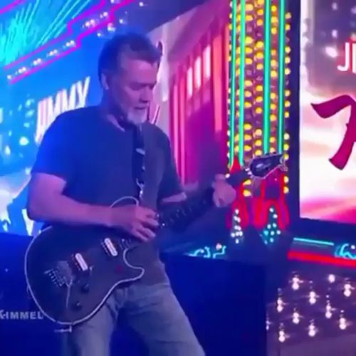 Mr. Eddie Van Halen recently celebrated a birthday. 🤘🏼 #longliverocknroll #urockvanhalen Happy belated. https://video.buffer.com/v/5a6fbb9bcb78983e209b7b7f