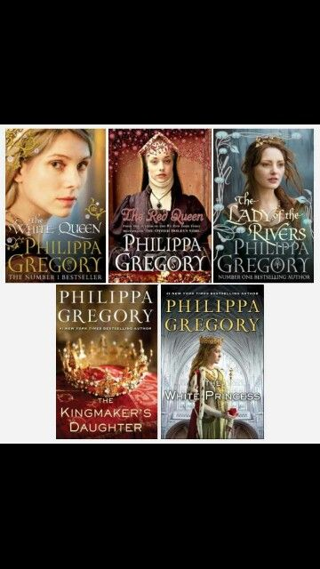 The Cousins War Series - Philippa Gregory Next on my list to read, having watched the TV series of The White Queen