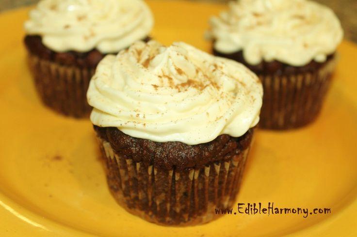 Grain-Free Pumpkin Pie Cupcakes (or Muffins) - Edible Harmony