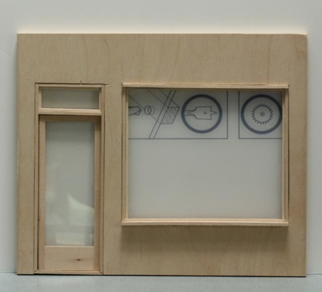 Tutorials to Help You Make Miniature Shops: Making Fixed Windows  for a Shop Front