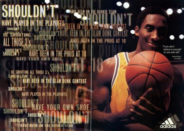 Kobe Bryant | Shoe History | Sneaker Pics and Commercials ...