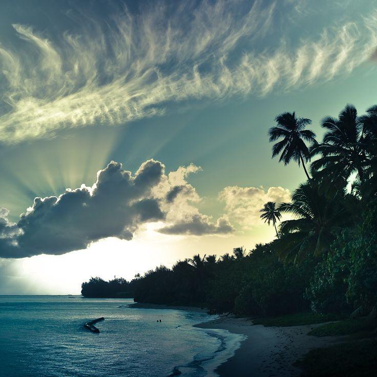cook islands - amazing sky!