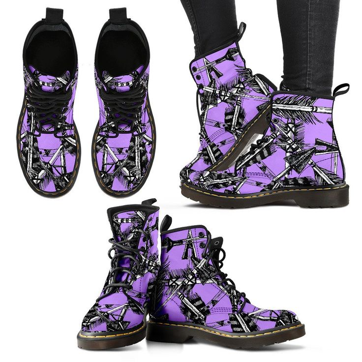 Women's Archery Boots - Bold Arrow Collection