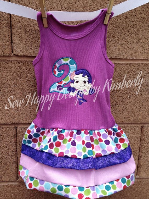 Bubble G Inspired Tank Top Dress with CHOICE of by SewHapDesign