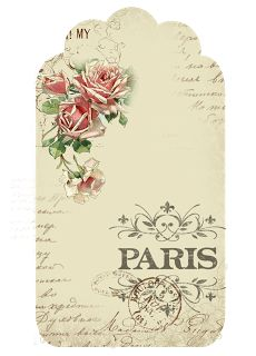 tag Springtime in Paris freebie