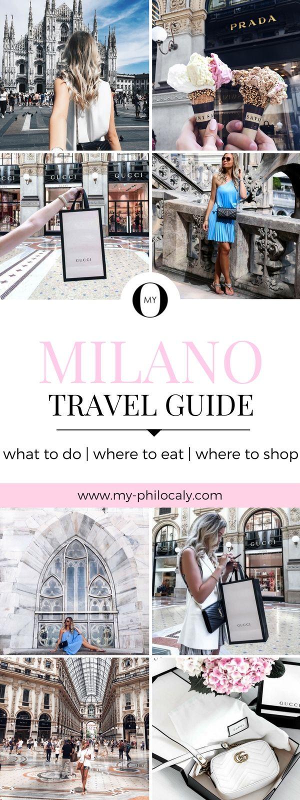 Erfahrt alles über Sightseeing in Mailand, was man sehen muss, wo man gut essen kann, wo sich Shopping lohnt und wo man die typischen Mailand Instagram Fotos schießt!