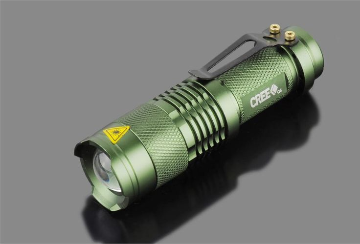 NEW Mini 2000 Lumens Bright CREE Q5 LED Adjustable Zoom Focus Tactical Flashlight FREE SHIPPING! These custom designed flashlights are MUST HAVE! Designed with premium high quality material. Material: