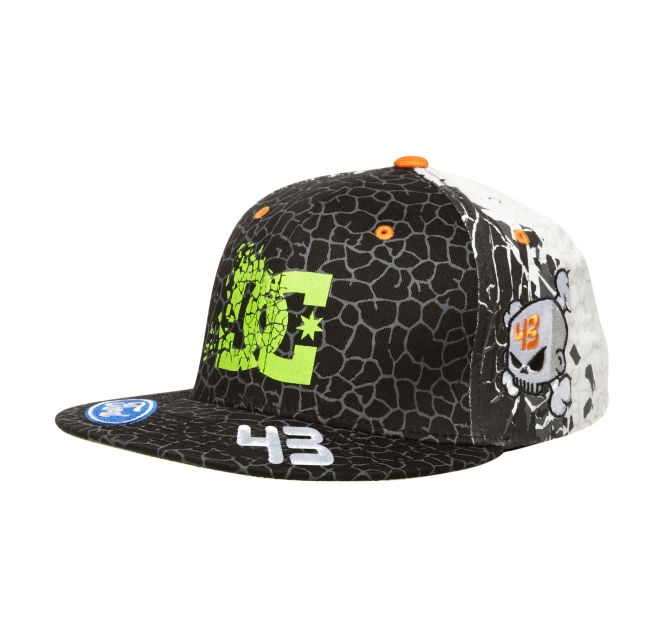 mens ken block cracked hat dc shoes ken block dc. Black Bedroom Furniture Sets. Home Design Ideas