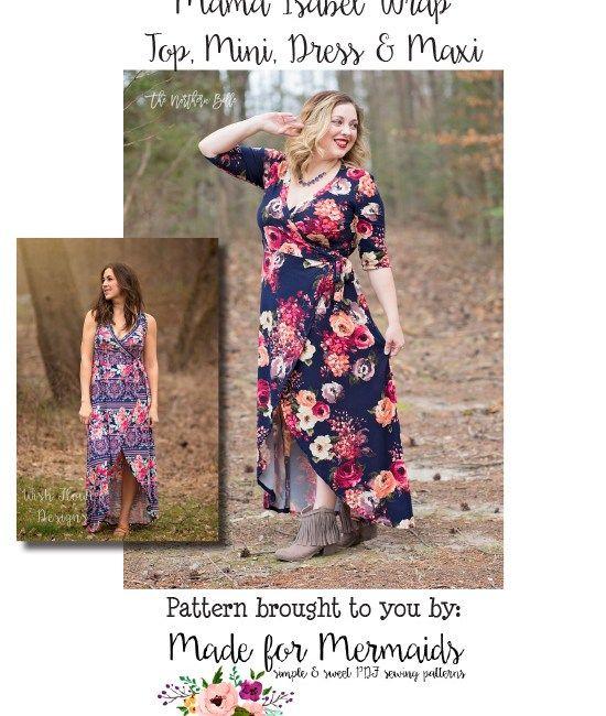 Made for Mermaids - PDF Sewing Pattern - Mama Isabel