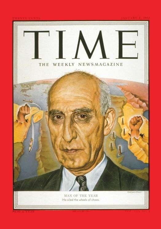 1951: Mohammad Mossadegh - Time