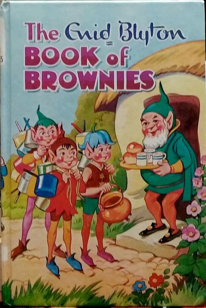 The Enid Blyton Book of Brownies Rewards #15 very good cond used hardcover 1984
