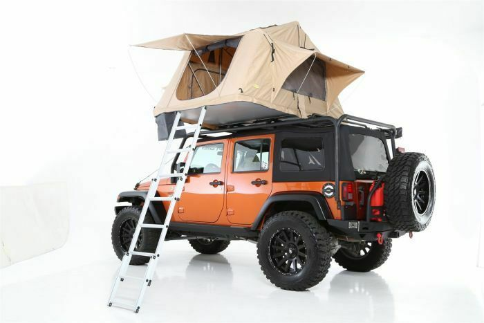 Smittybilt Roof Top Tent With Roof Rack Fits Jeep Wrangler Jk 2 Door S Bttjk0716 Roof Top Tent Top Tents Jeep