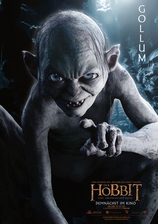 Serkis als Gollum in Der Hobbit