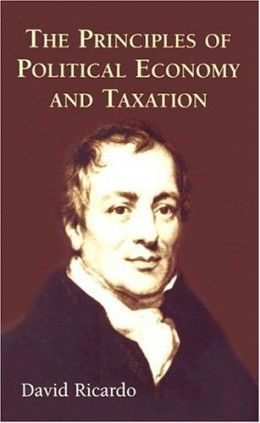 David Ricardo's The Iron Law of Wages looks at the worker's wages or salaries compared to the cost of goods