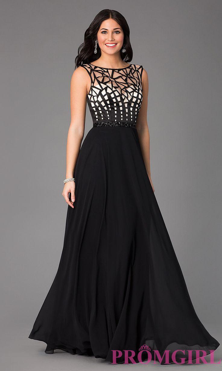 Black Floor Length Masquerade Dress – Fashion dresses