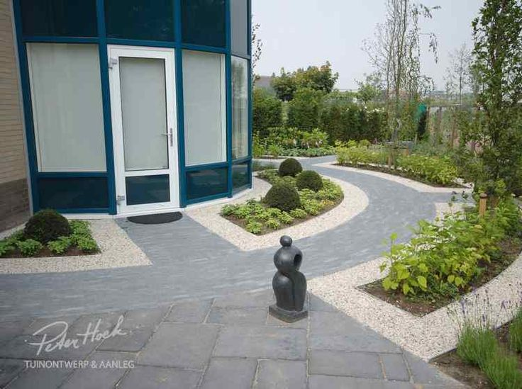 Die besten 25+ Garteneingang Ideen auf Pinterest Garten bogen - moderner vorgarten mit kies