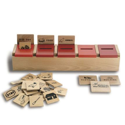 Category Sort Classification Game - The Senior Care Shop