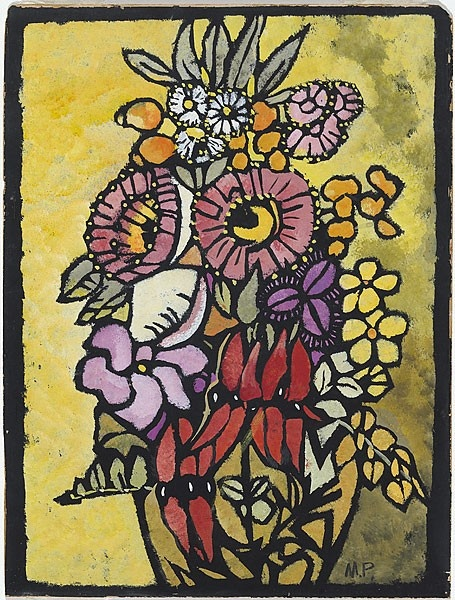 Margaret Preston: Native Flowers Australian