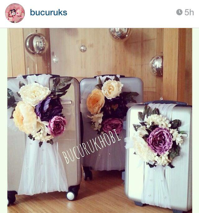 Nişan bohçası :))gelin valizi yaptım oldu:))