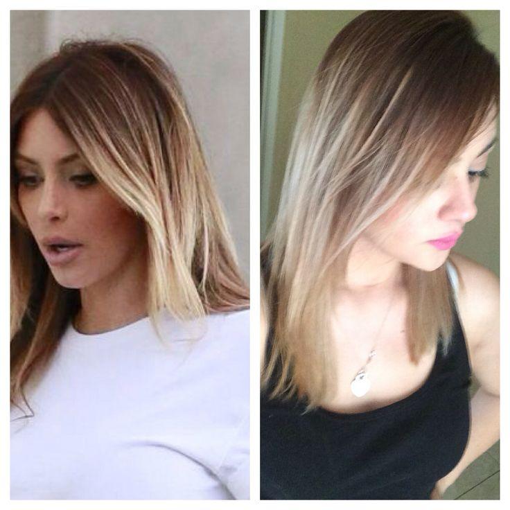 Kim Kardashian Inspired Ombr 233 Ombre Hair Blonde Hair