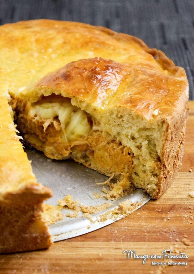 Pastelão de Frango - Lanche delícia!!