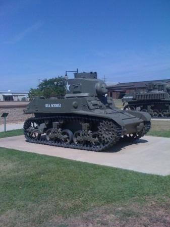 Fort Hood Military Post, Killeen, Texas. I've touched that exact tank. We went through here when my friend from Kansas visited because his mom is best friends with mine since high school.
