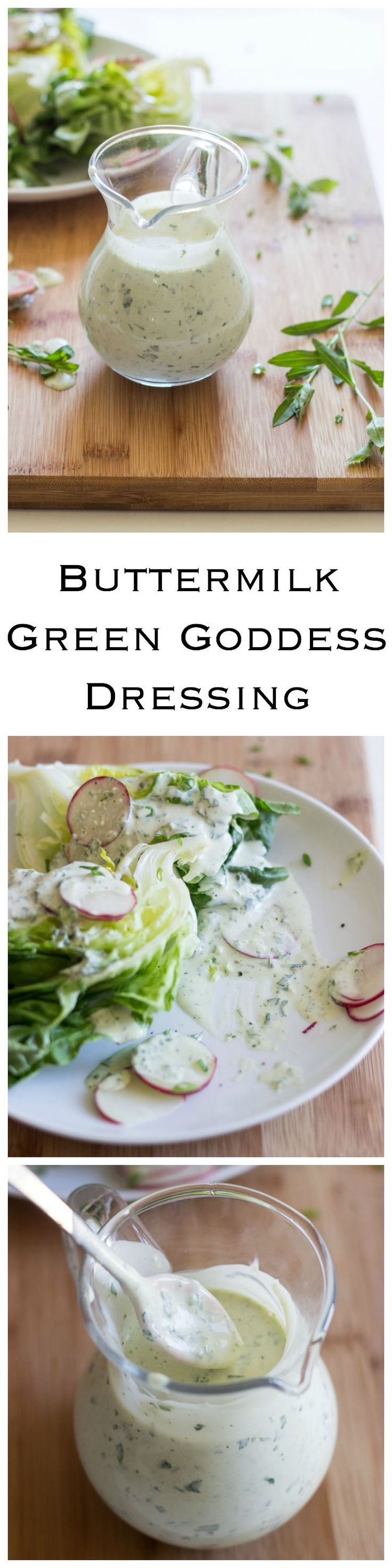 BEST salad dressing ever! You will never go back to anything else. It's so addictive. | littlebroken.com @littlebroken
