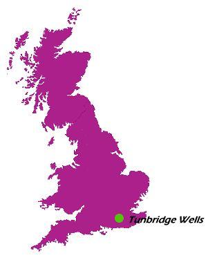 Tunbridge Wells es un distrito no metropolitano con el estatus de municipio, ubicado en el condado de Kent (Inglaterra)
