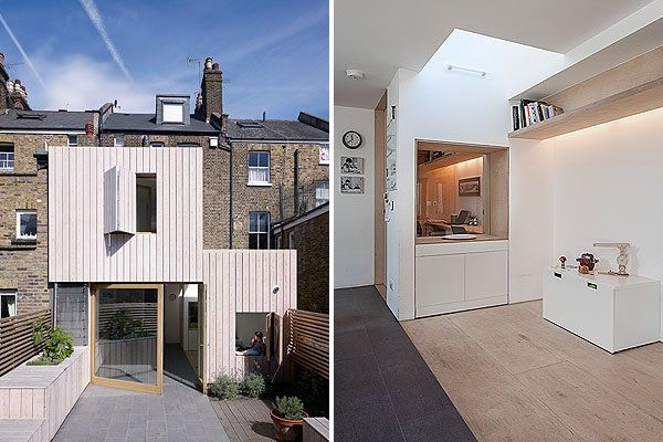 17 best images about brick and cladding on pinterest wooden frames modern beach houses and - The shutter clad house ...