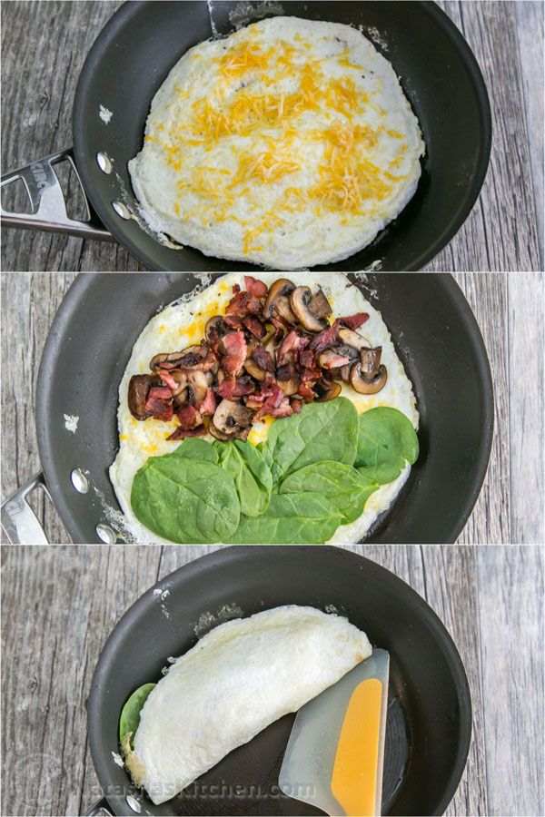 how many calories in an egg white omelet with spinach and mushrooms
