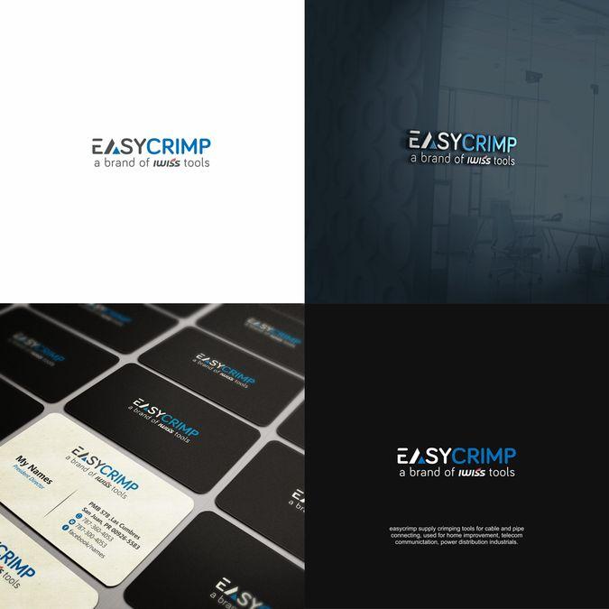 easycrimp logo design monogram is recommand! by Hasnia99™