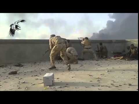 Iraq War 2015 Battlefield Baiji Insane Heavy Fighting and TOS 1 Launches against IS • WORLD NEWS T - YouTube