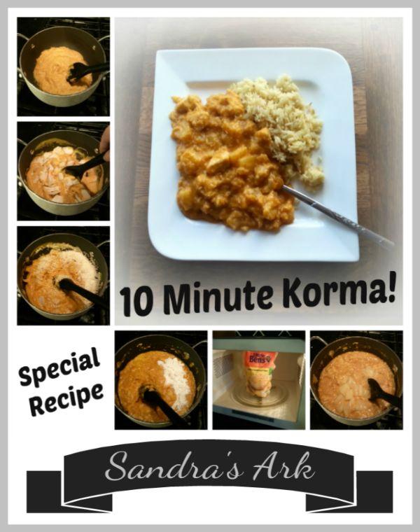 27 best chicken recipes images on pinterest chicken recipes sandras ark 10 minute chicken korma forumfinder Gallery