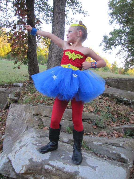 Sample sale 3-4T only Superhero tutu costume by TheCreatorsTouch