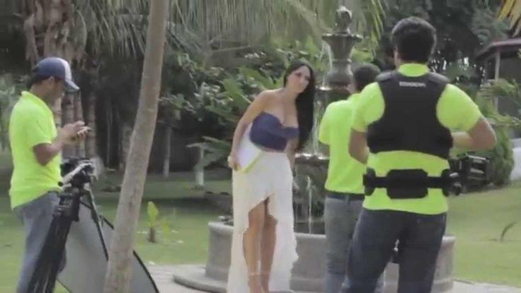 Gina Rivera  - Te vas - detrás de camaras