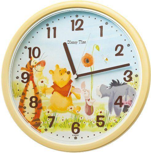 人気】おしゃれでかわいい!ディズニー掛け時計BEST30! | おすすめ ... ディズニータイム くまのプーさん 掛け時計 FW570Y