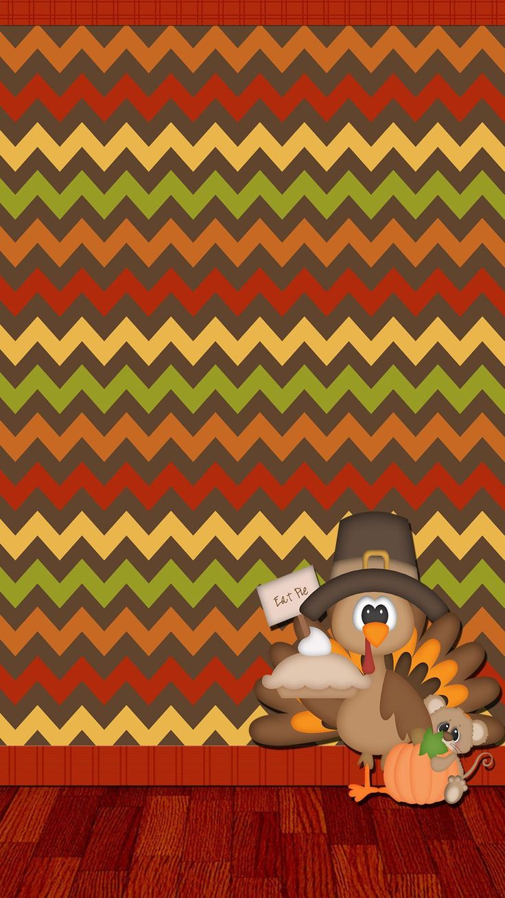 Cute Happy Thanksgiving Background Cute Happy