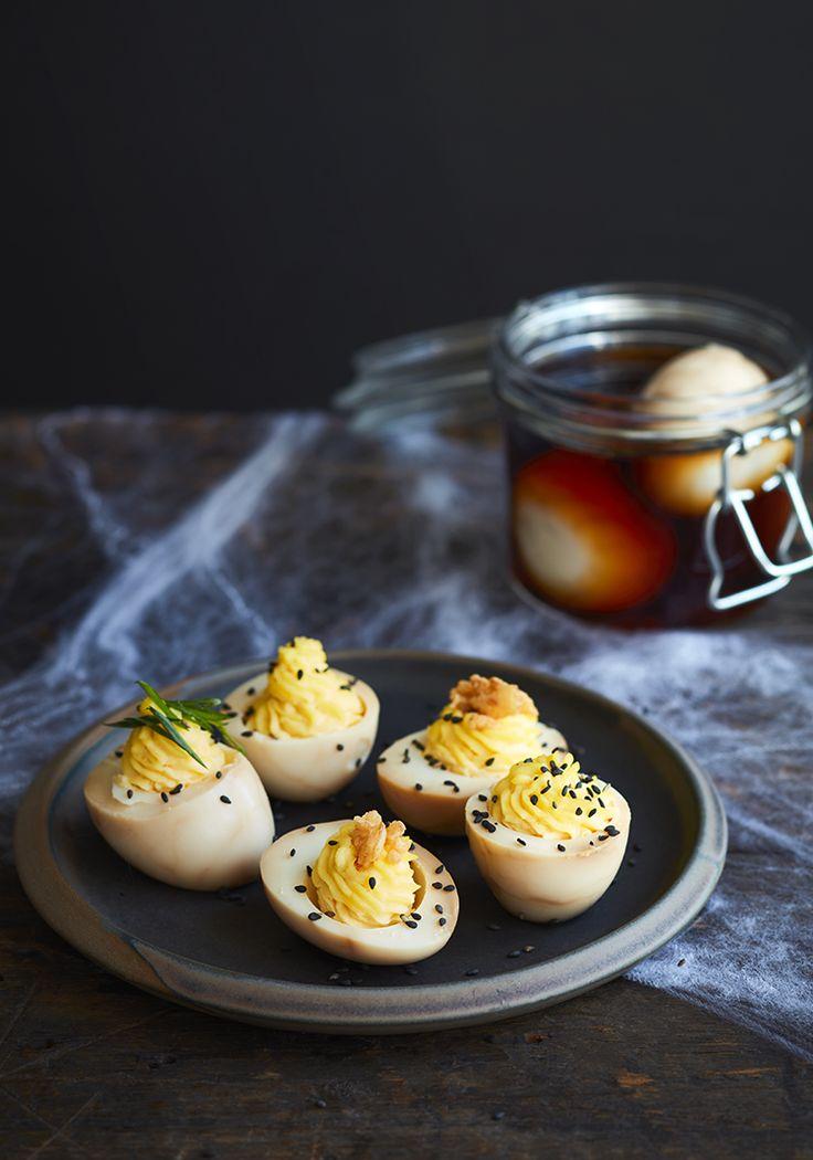 Vous aurez compris que je ne vous propose pas une vraie recette d'œufs de dragon puisque ces derniers se font plutôt rares dans mon quartier.