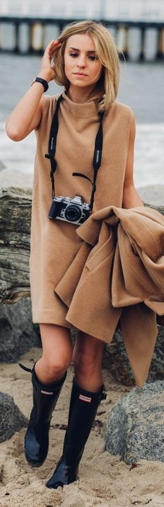 Camel And Black Fall Inspo by Make Life Easier