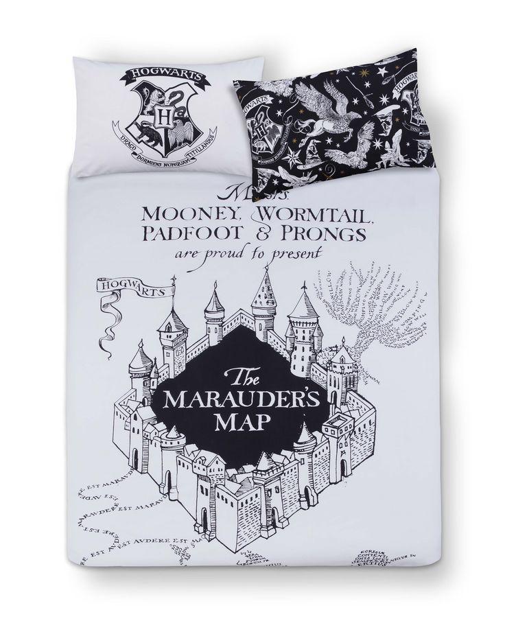 Primark - Harry Potter Mono Double Bed Set