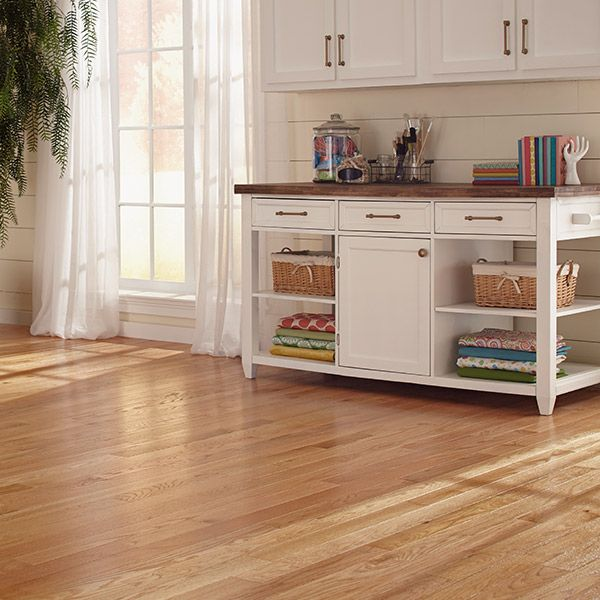Image Result For Natural Red Oak Floors With White Cabinets Red Oak Floors Oak Floors White Cabinets