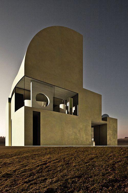 Purple House        Wales, United Kingdom        Architects: Antonino Cardillo Architects #audacious #architecture