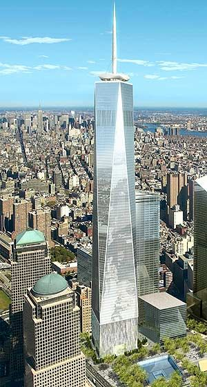 The Freedom Tower was built to memorialize all of the people who lost their lives on 9/11. The tower was also built to replace the two twin towers that were knocked down in the terrorist attack. The design was meant to give people the feeling of recovery.