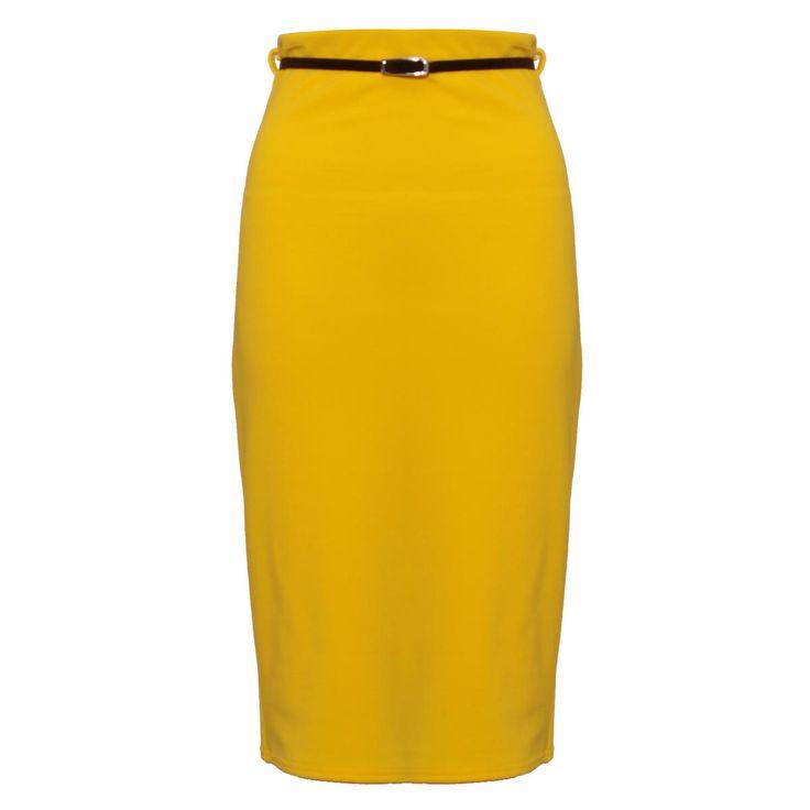 best 10 yellow pencil skirt ideas on yellow
