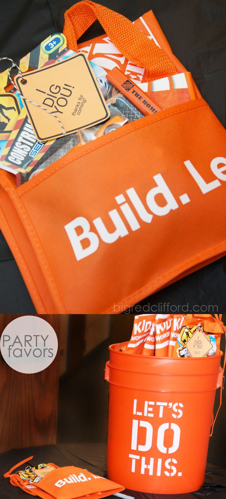 construction party favors home depot orange cheap