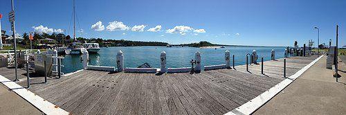 Huskisson Wharf on a sunny day :)