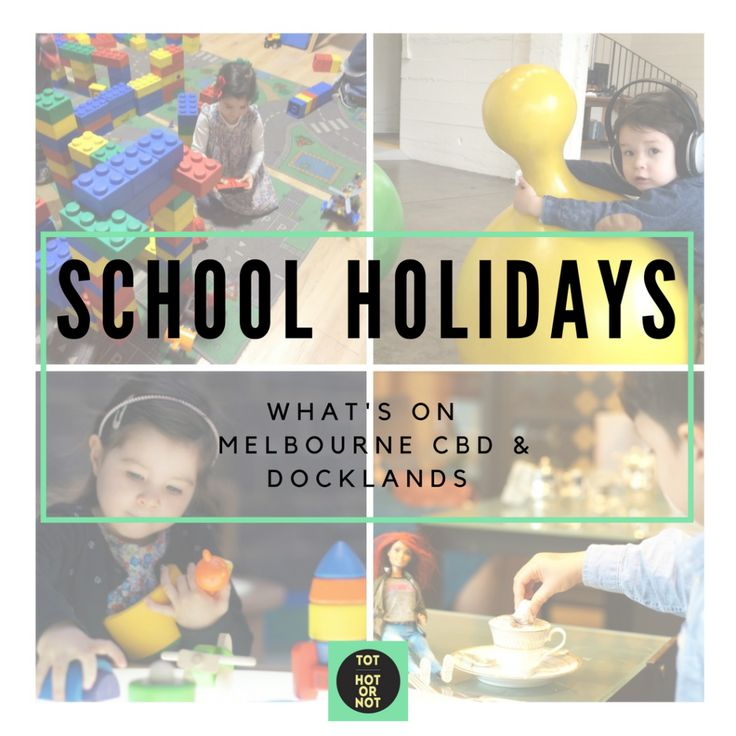 Spring School Holidays Melbourne - Friday 16 September to Sunday 2 October - CBD/Docklands http://tothotornot.com/2016/09/spring-school-holiday-melbourne-2016/