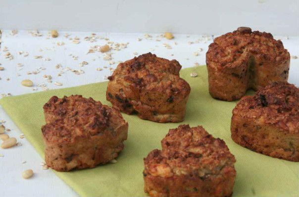 Gezonde havermout muffins met vijgen - Lekker eten met Linda