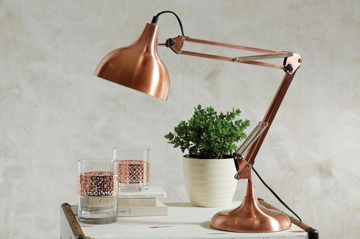 SID DESK LAMP  - COPPER